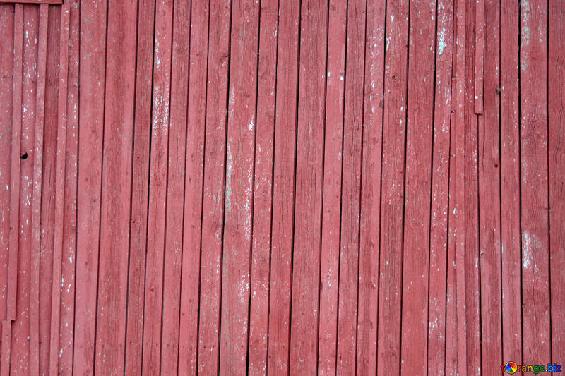 Texture of old wood dyed red №13975