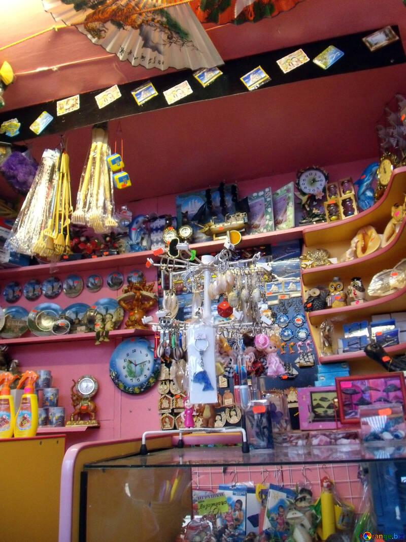 Sale of souvenirs №13572