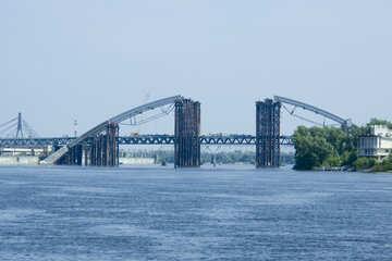Unfinished bridge №14556