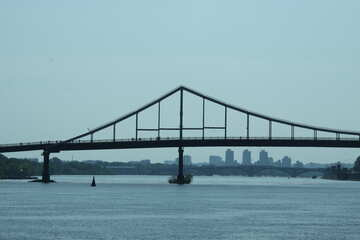 The bridge over the Dnipro №14574