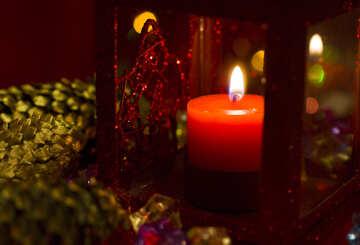 Рождественский фонарик №14997