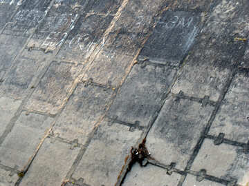 Texture.Concrete slabs dam №14069