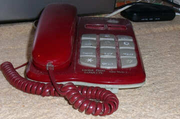 Old touch-tone telephone №14020