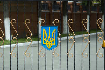 Ворота Герб Украины №14773