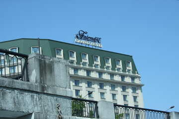 Hotel on the waterfront in Kiev №14584