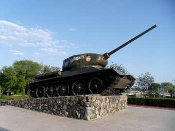 Monument tank №14103