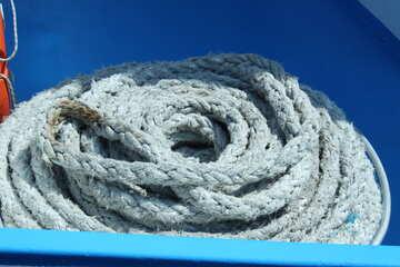Ship rope №14568