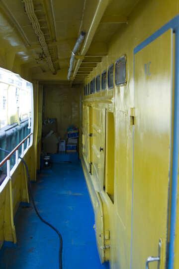 Deck des Schiffes №14625