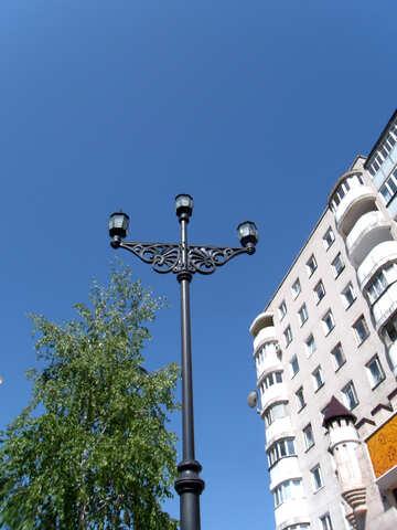 Antique street lamp №14118
