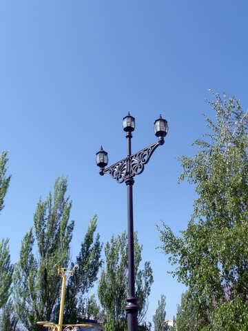 Street lamp in retro style №14048