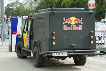 Advertise on Red Bull car №14685