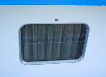 All`esterno della finestra, la cabina №14535