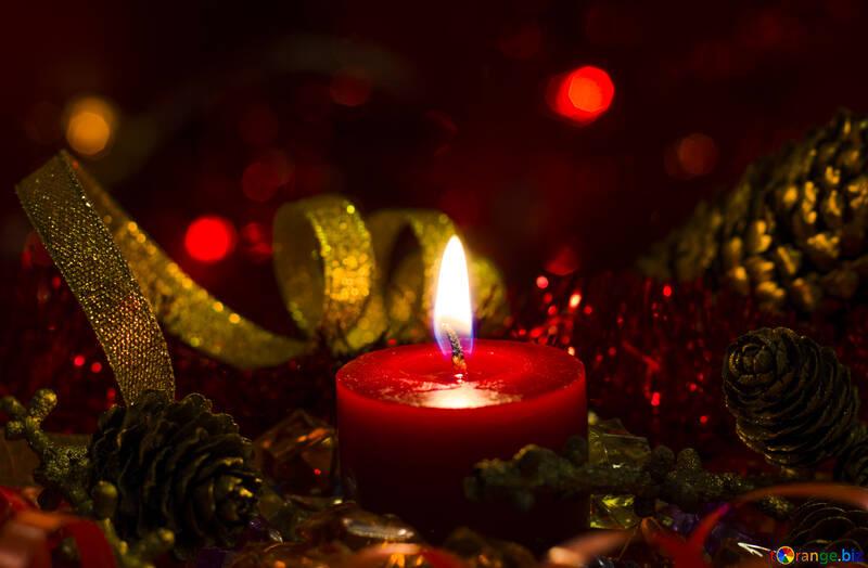 Christmas Candle №15000