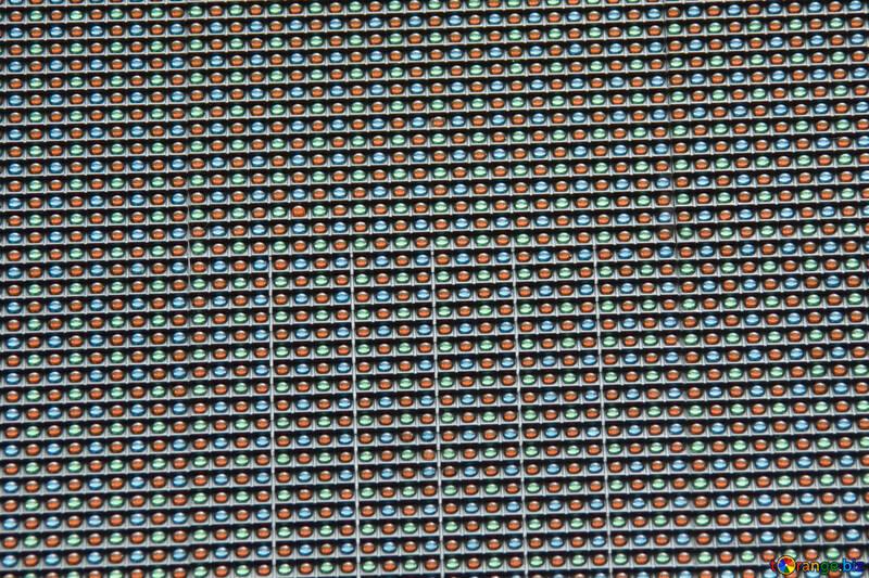 Текстура. Светодиодное табло. №14642