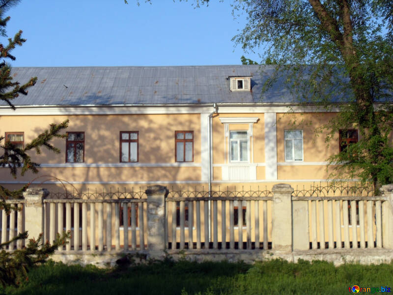 Texture. The facade of the 19th century. №14055