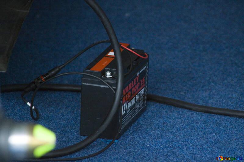Electricidad batería de coche energía № 14706