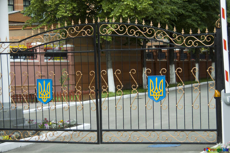 The gates of the military unit №14796