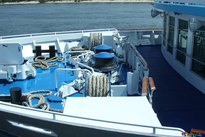 Ausrüstung auf dem Vorschiff №14599