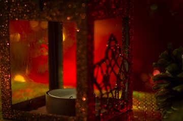 Erlischt die Kerze in die Laterne №15004