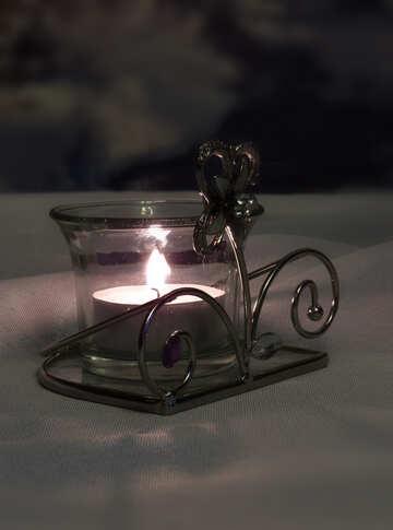 Ледяная свеча №15208