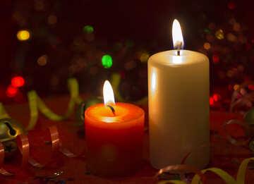Christmas Candles №15028