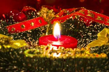 Открытка на рождество №15054