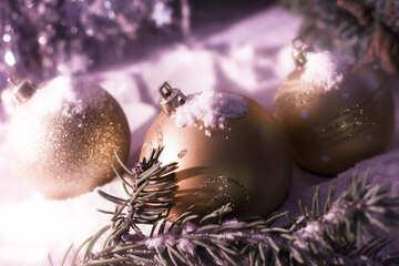 Snowy Christmas card №15369