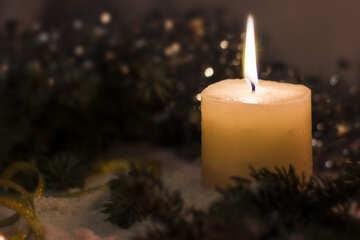 Sawn Christmas greetings №15386