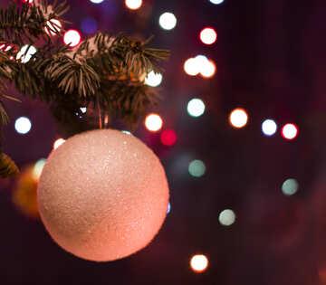 Christmas ball №15312