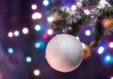 Christmas ball №15313