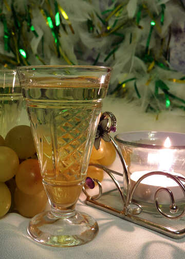 Celebratory glass №15181