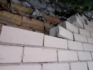 Fallen bricks №15632