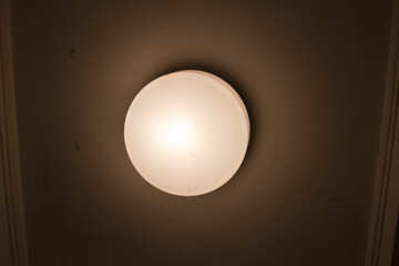 Round ceiling lamp №15943