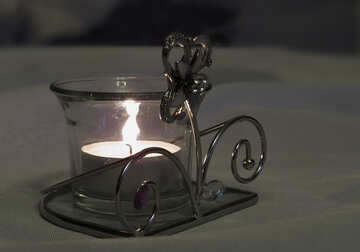 Cold candle №15210