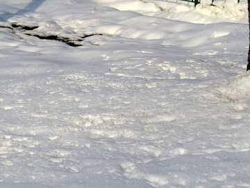 Schnee ist №15735