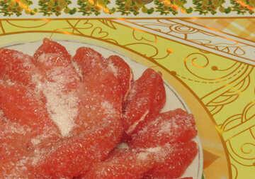 Тарелка с цитрусом №15665
