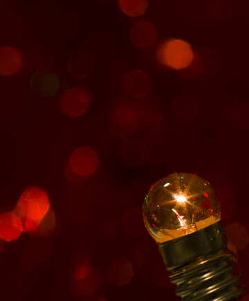 Christmas bulb №15114