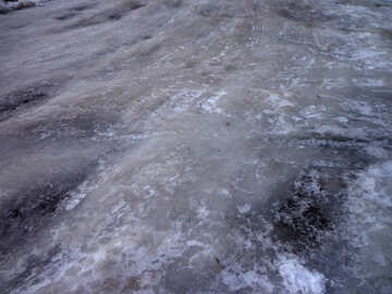 Ice on the road №15652
