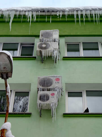Icicles and conditioner №15578