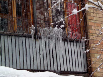 Icicles on the grid №15584