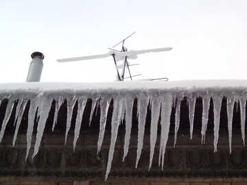 Roof with icicles №15594
