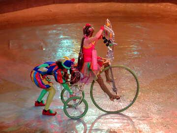 Clown del circo №15760