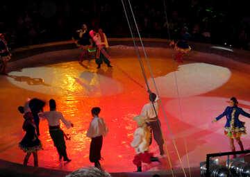 Lo spettacolo al circo №15805