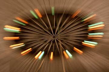Rays of light №15938