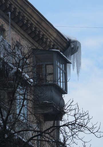 Huge icicle №15696
