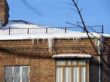 White icicle №15730