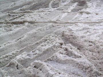 Snowy mess №15615
