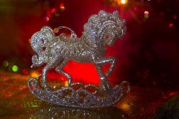 Christmas Toy Horse №15002