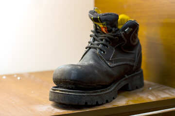 An old boot in the nightstand №15461
