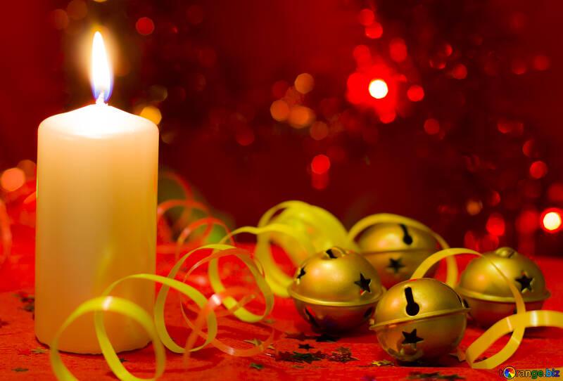 Christmas candle №15009